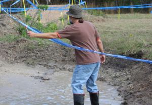 BHT likes mud bogs. Here he entices guys at Gainesville's Swamp Cross.