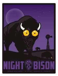 The Night Bison - Dekalb, Illinois @ North Central Cyclery | DeKalb | Illinois | United States