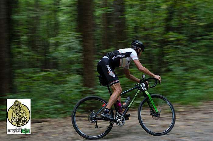 Rusty of Gravel Cyclist. Photo by Icon Media Asheville.