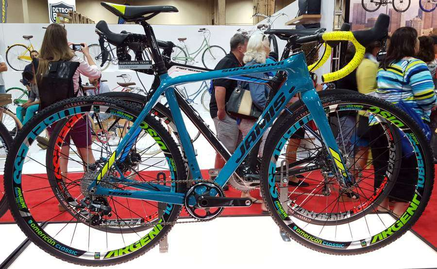 Interbike 2015 Jamis Renegade Supernova Bicycles Gravel