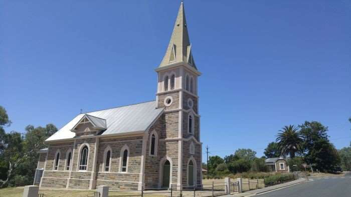 I'm not a religious man, but I can appreciate the beauty of this church in the country town of Keyneton.