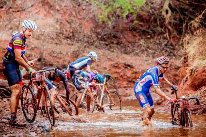 Bike cleansing on a mass scale.