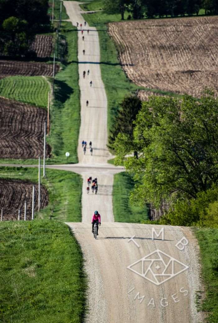 Photo by TMB Images. The roller hills of Almanzo 100.