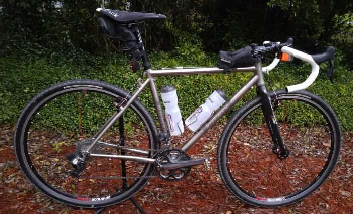 JOM's bike as it will appear at 2016 Gravel Worlds.