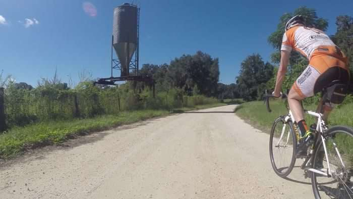 K-Dogg on a sweet dirt and gravel road outside of Gainesville, FL.