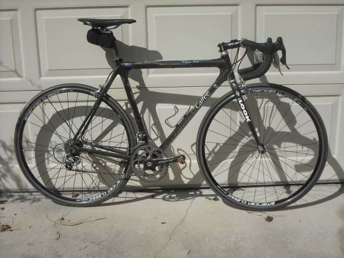 JOM's steed for Rouge Roubaix 2010.