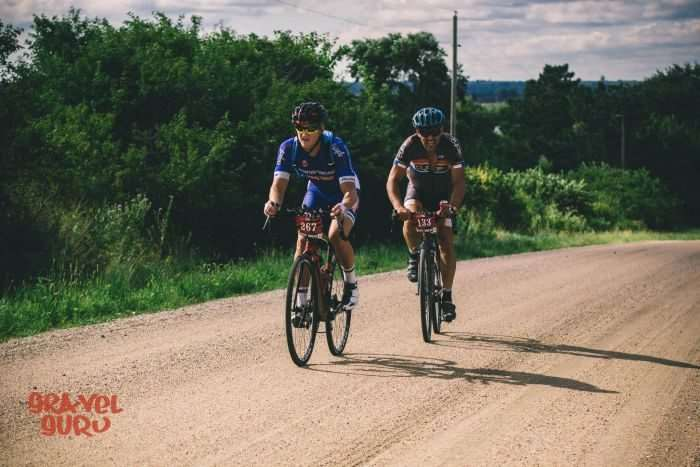 Austin Morris and Ethan Froese. Photo by Gravel Guru.