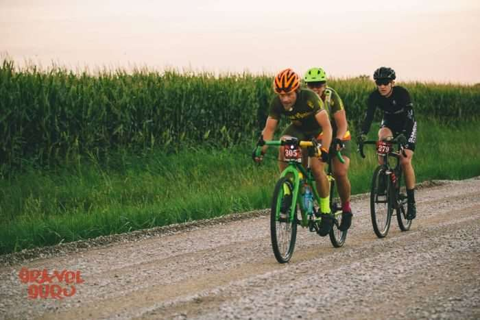 Jay and Tracey working hard at 2016 Gravel Worlds. Photo by Gravel Guru.