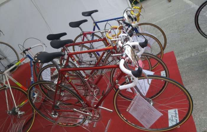 Need a Colnago. Another popular brand at L'Eroica.