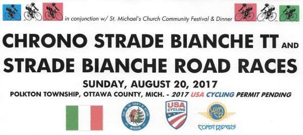 Strade Bianche Chrono & Road Races - Coopersville, Michigan @ Coopersville | Michigan | United States