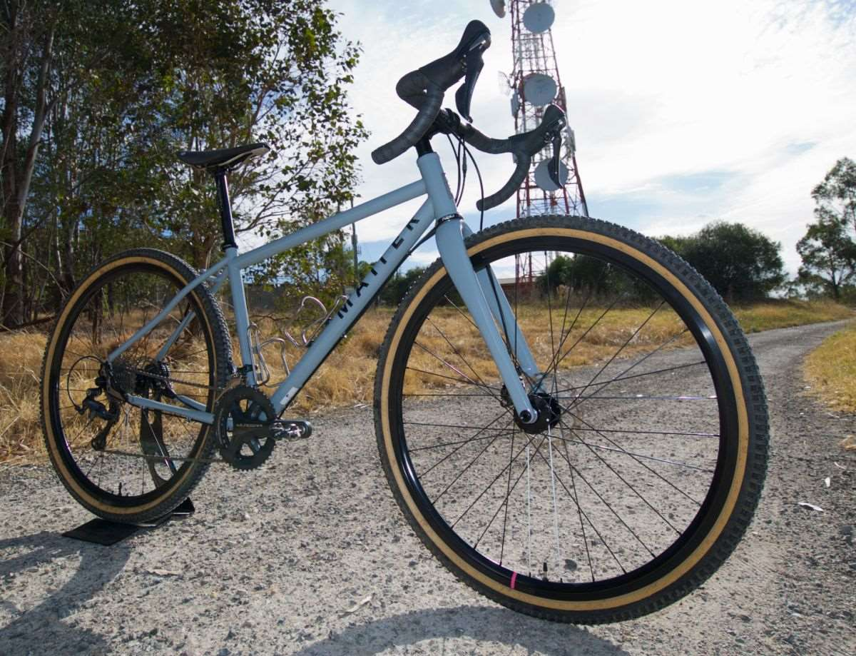 Featured Bike: Marco Cailao\'s Matter Cycles Wolfbeard Gravel Bike ...