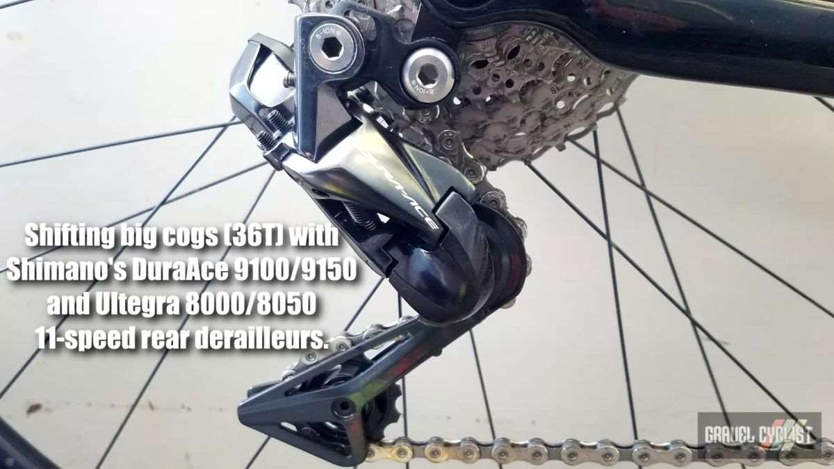 Tinkering 101 Shifting Big Gears With Shimano Dura Ace 9100 9150 Di2 Wiring Diagram Ultegra 8000 8050 Derailleurs Gravel Cyclist The Cycling Experience