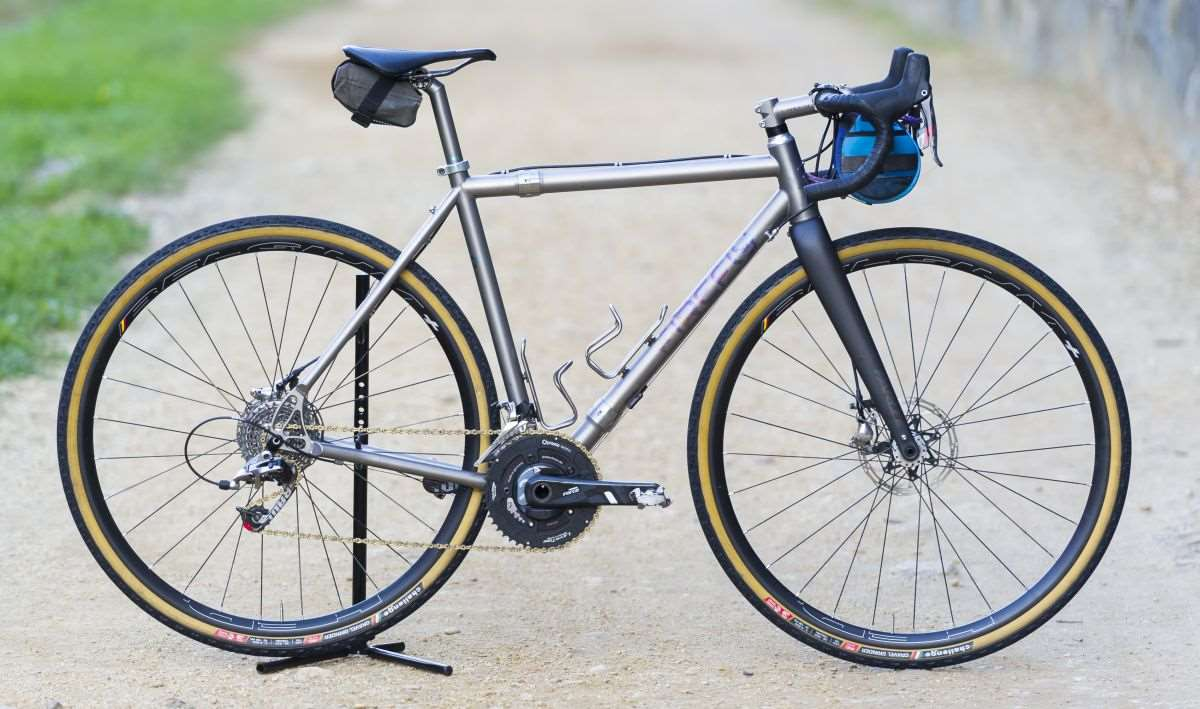 Firefly Bicycles All Road with S&S Couplers