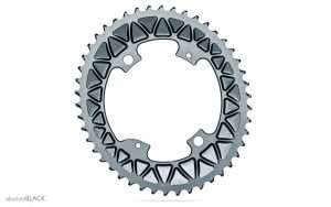 absolute black sub-compact chainrings and weights