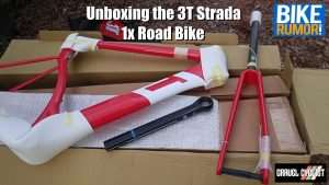 3t strada road bike unboxing