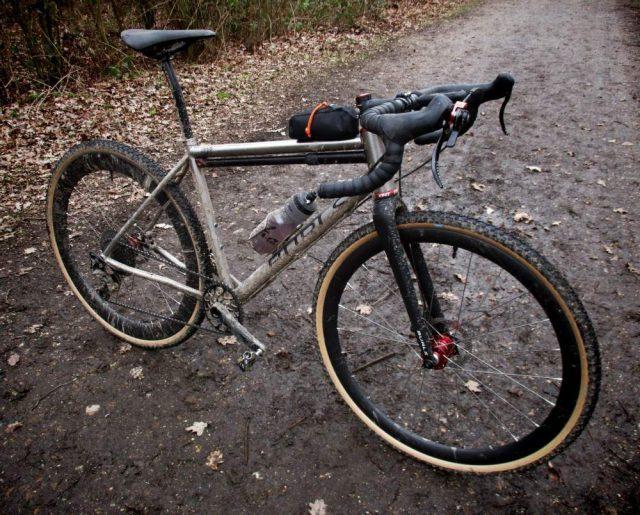 burls cycles titanium gravel bike review
