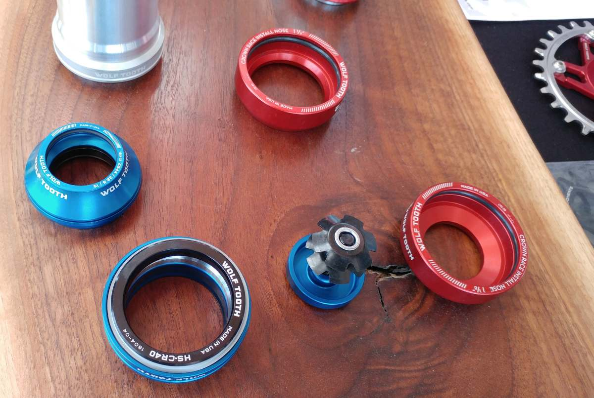 wolf tooth precision headset review and weights