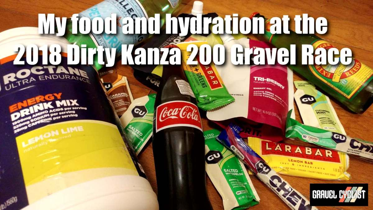 dirty kanza food and hydration