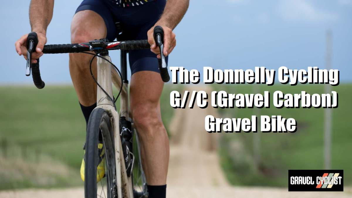 donnelly cycling g//c gravel bike