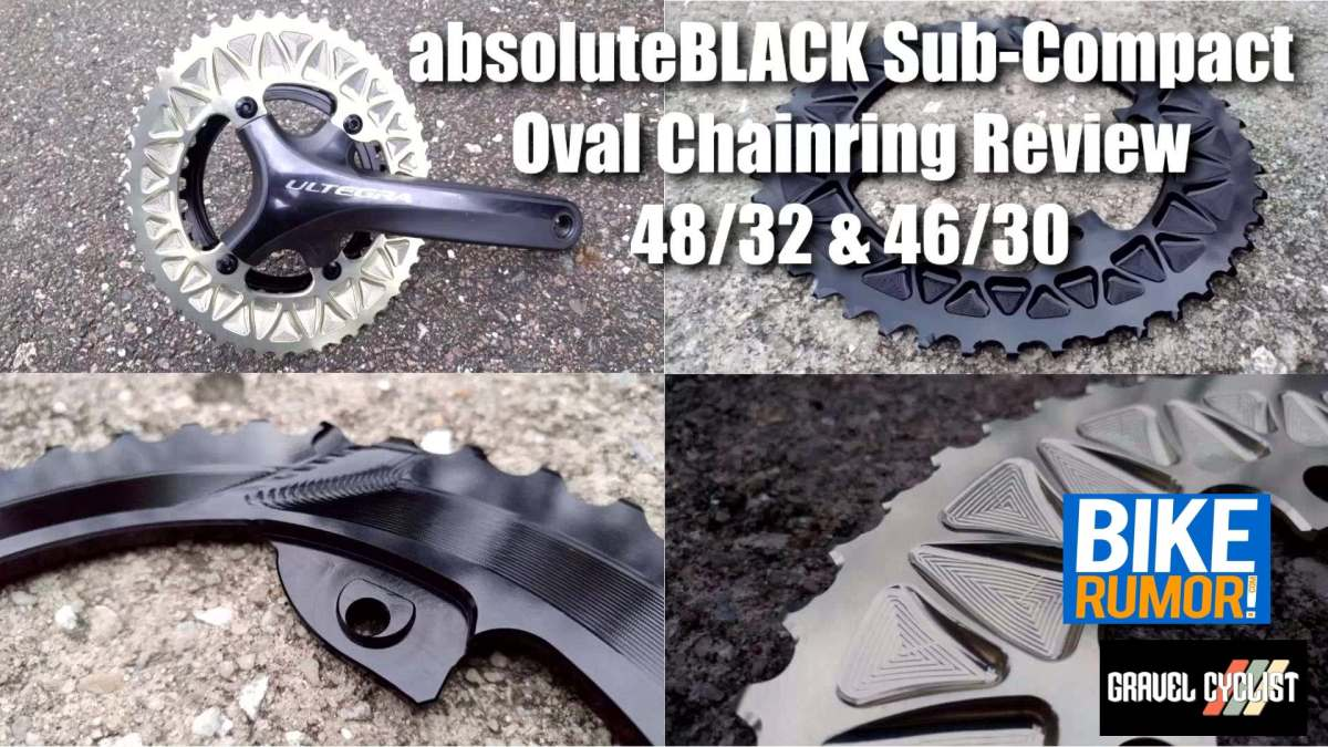 absoluteblack sub-compact chainring review