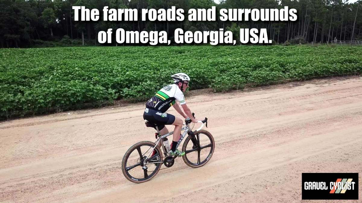 gravel cycling in southern georgia