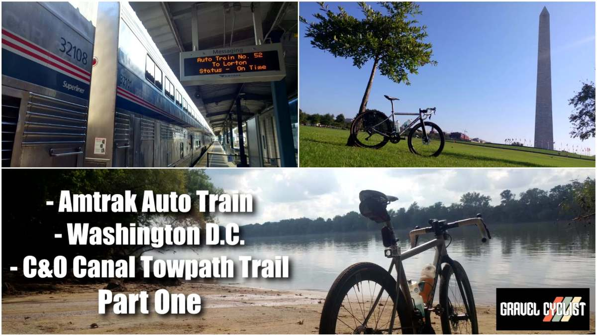 cycling the c and o canal towpath