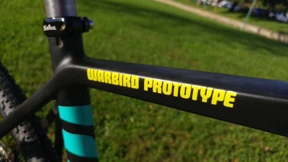 Featured Bike with Video: Jay Petervary's Salsa Carbon Warbird Prototype - V4 - Gravel Cyclist: The Gravel Cycling Experience