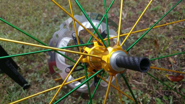 PDXTI 12mm to 15mm axle adapter review