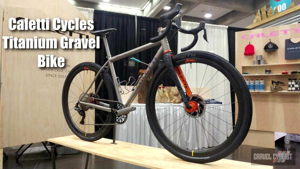 caletti cycles titanium gravel bike