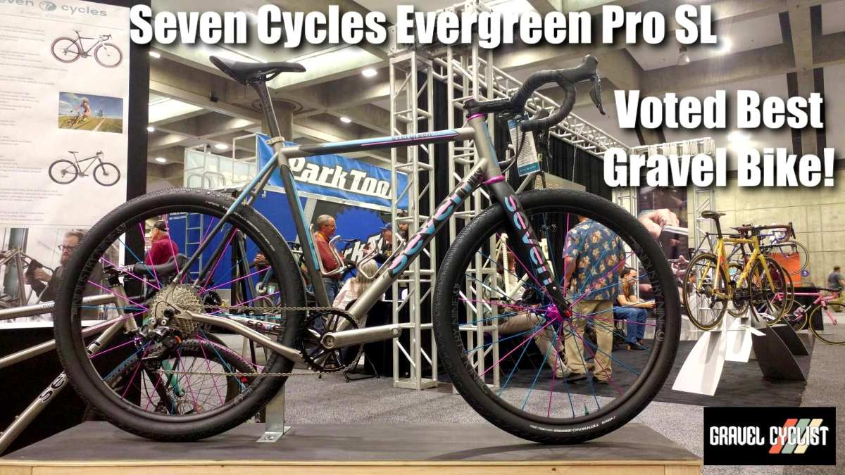 seven cycles evergreen pro sl gravel bike nahbs 2019