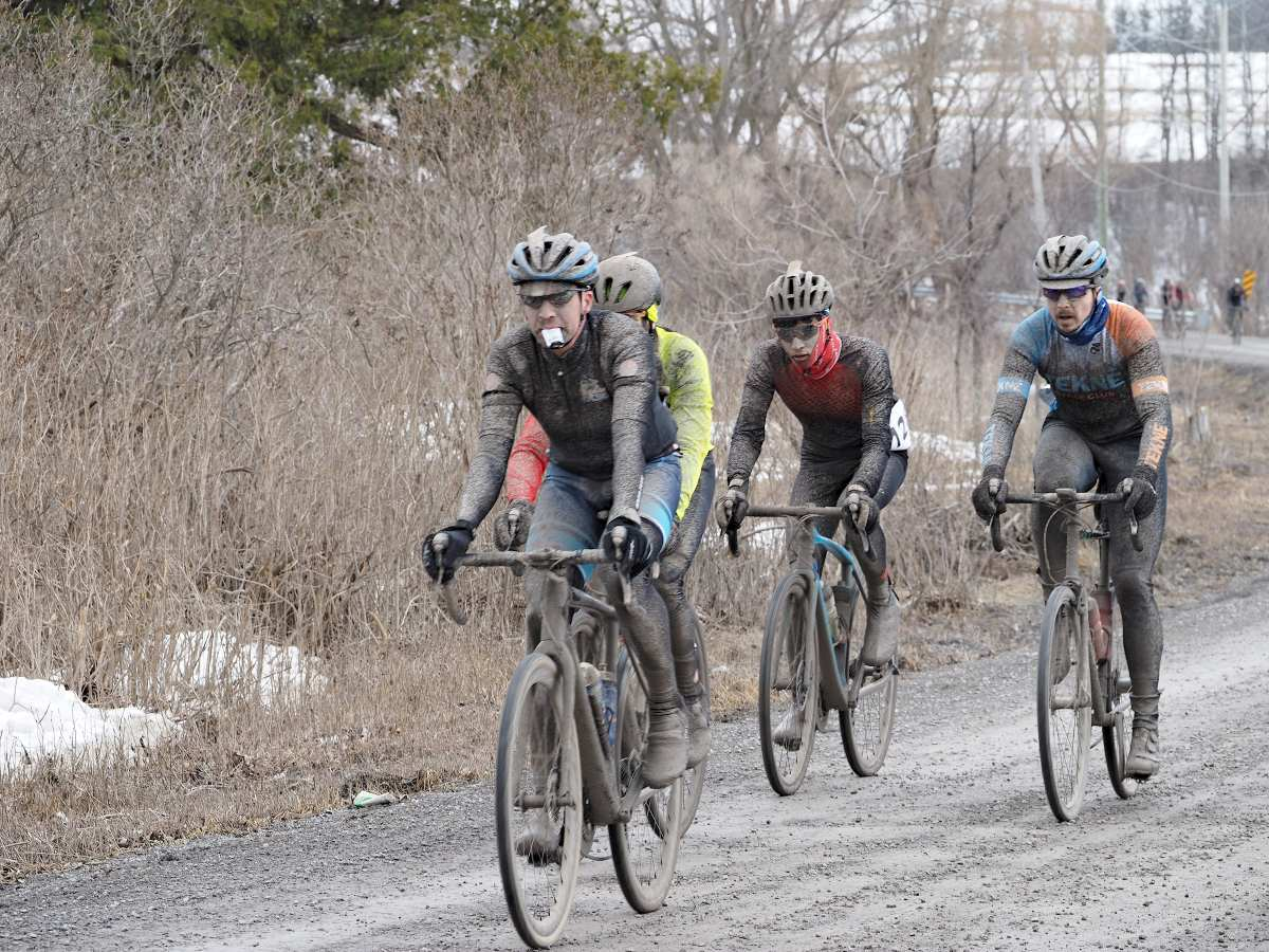 kin vineyards spring runoff east canada gravel cup