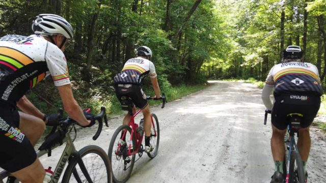 upstate south carolina gravel cycling