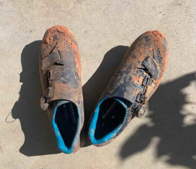 shimano rx8 gravel shoe review