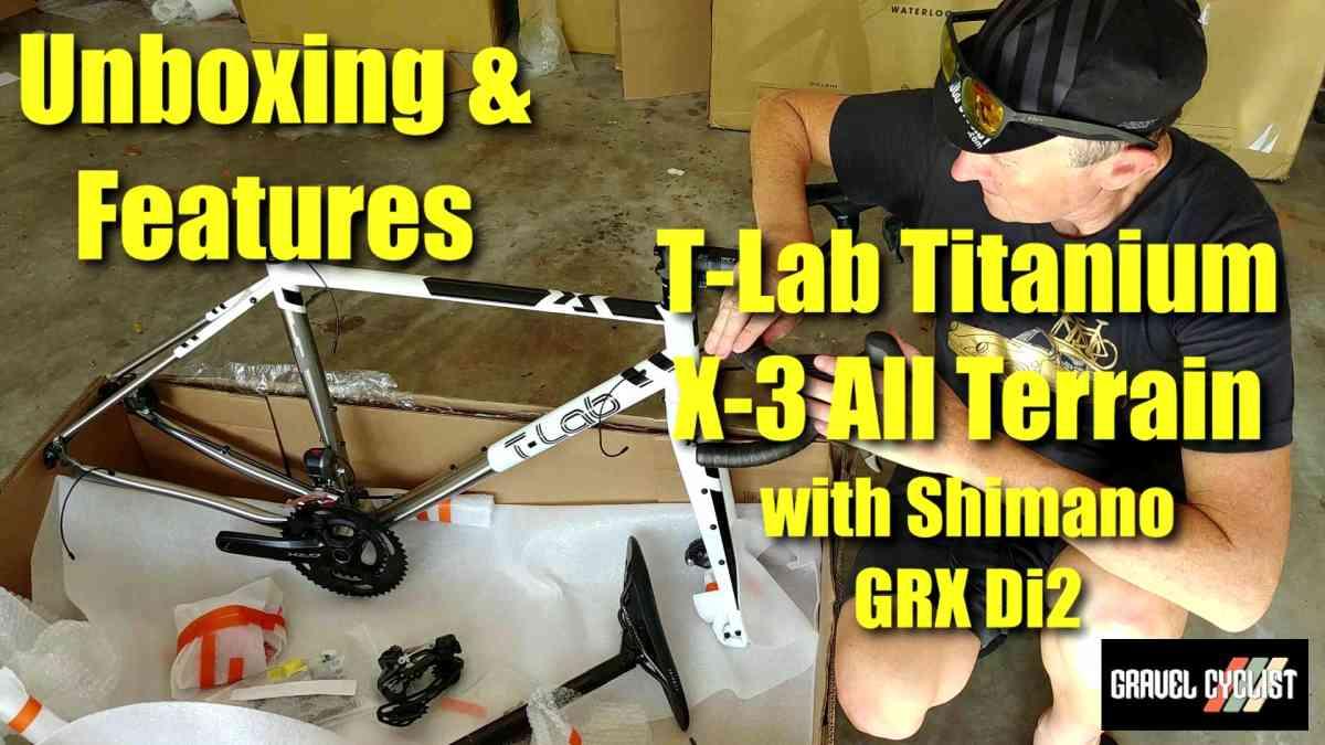 2020 t-lab x3 titanium gravel bike