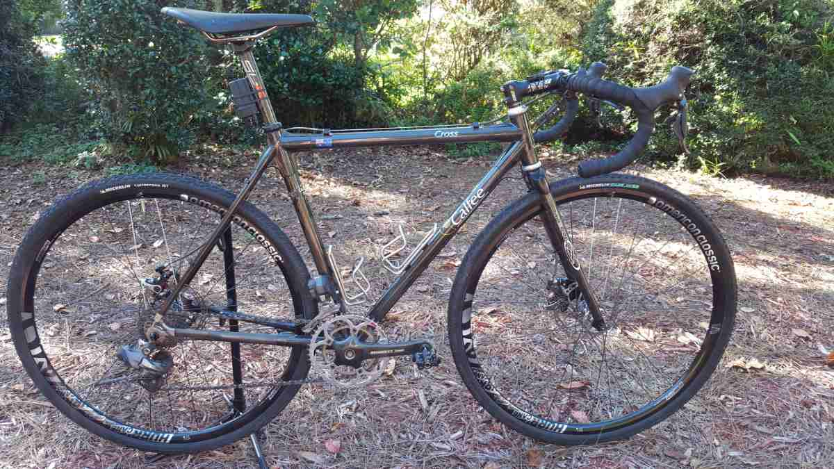 calfee designs gravel bike