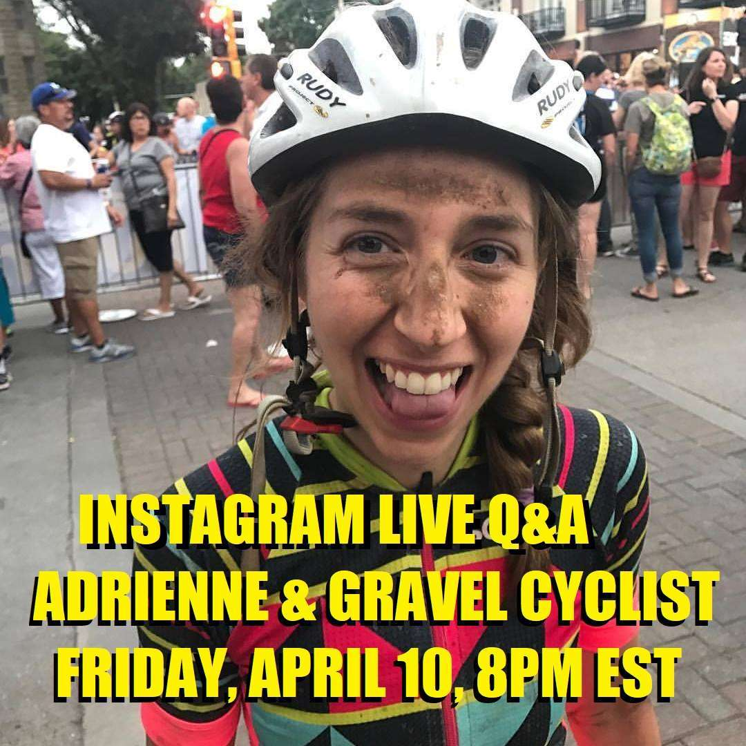 gravel cyclist instagram live q&a