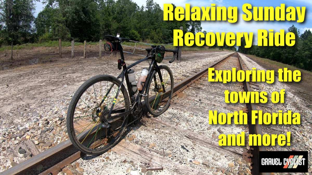 gravel cycling recovery ride