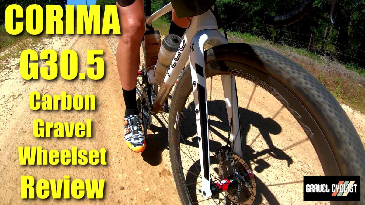 corima g30.5 gravel wheelset review
