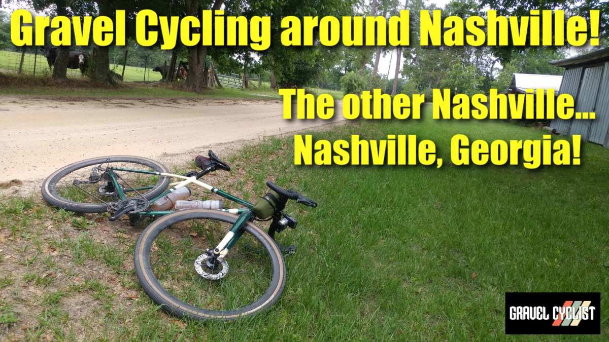 gravel cycling in nashville georgia