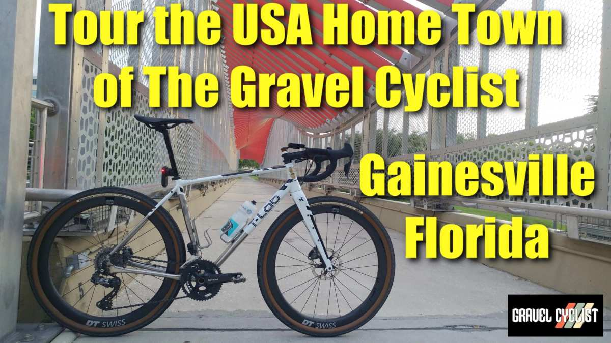 touring gainesville florida by bicycle