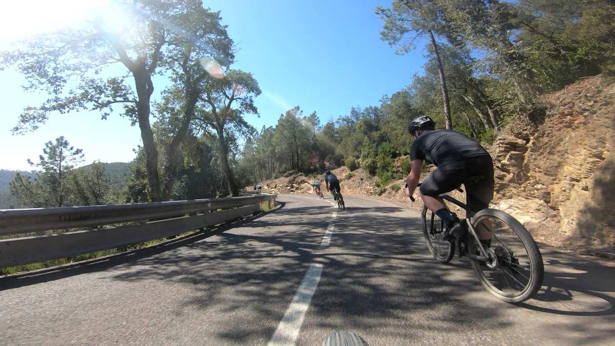 riding gravel bikes in girona spain