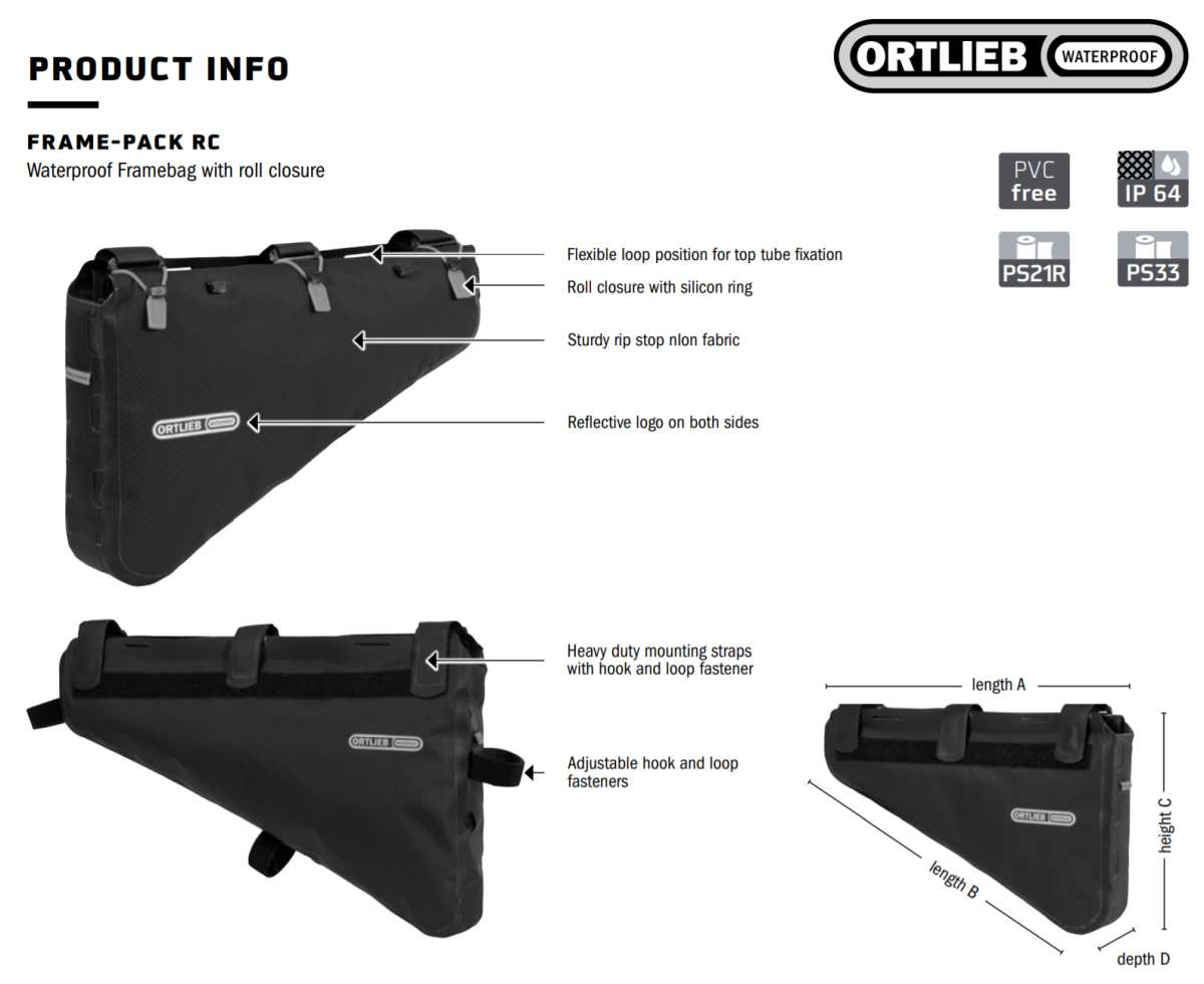 ortlieb bikepacking gear for 2021