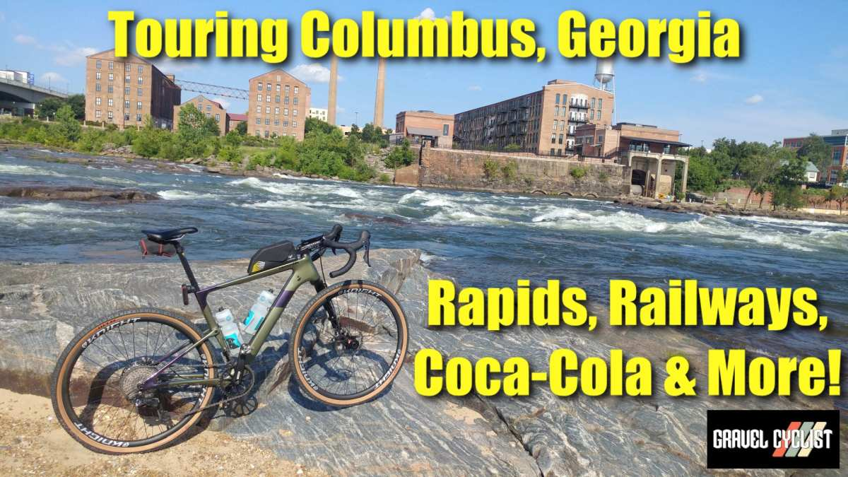 touring columbus georgia by bicycle