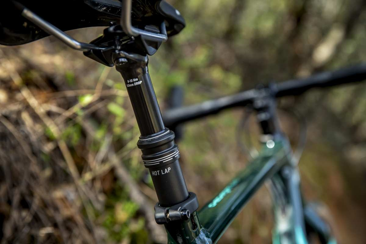 tranzx hot lap dropper seatpost review