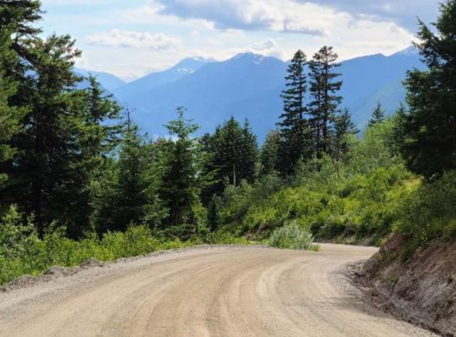 gravel cycling in british columbia