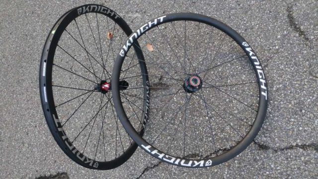 knight all road gravel wheelset review