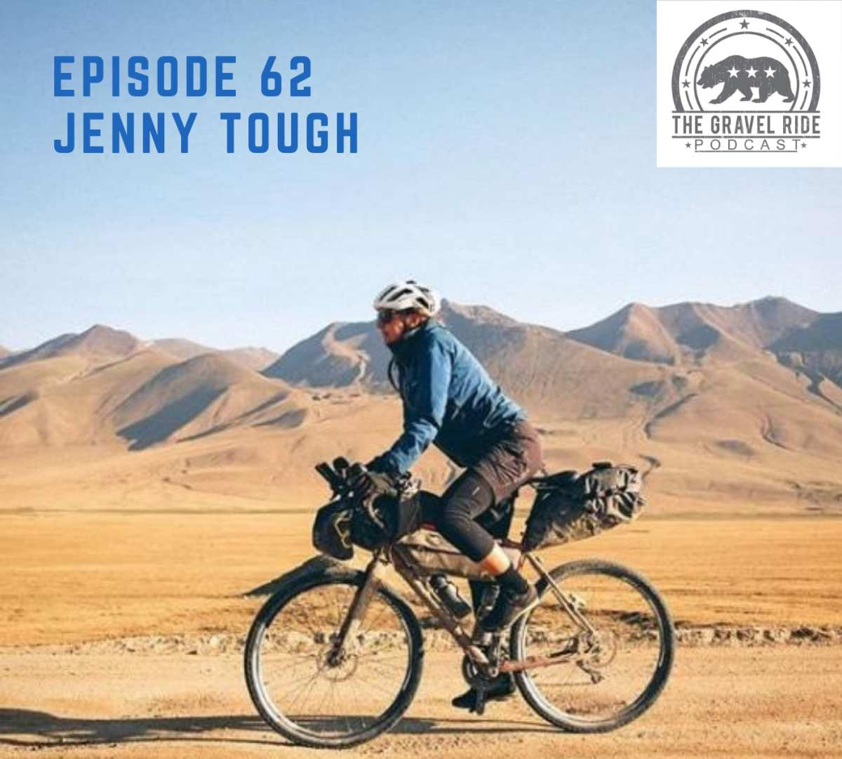 Gravel Ride Podcast Jenny Tough