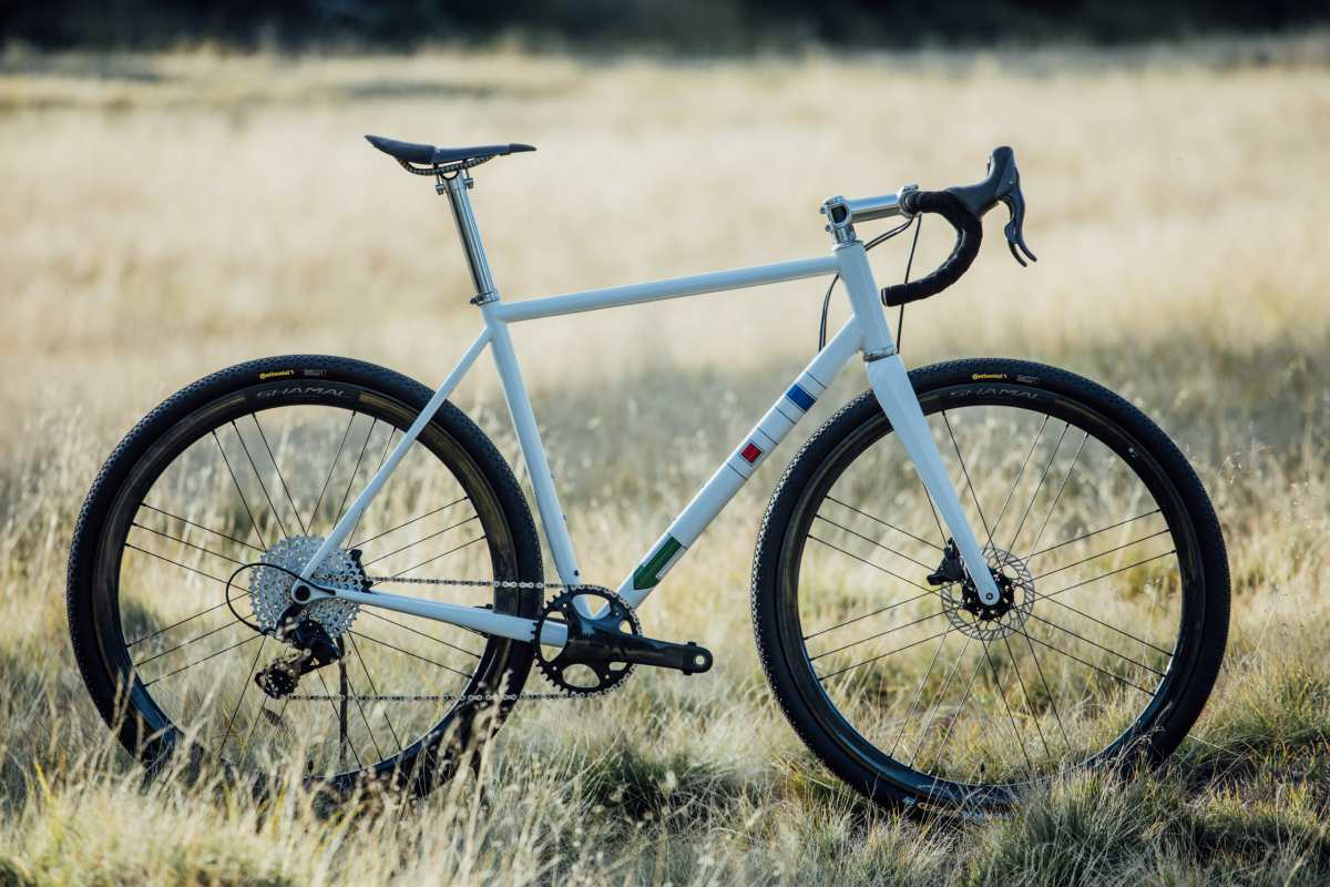 repete verne steel gravel bike with campagnolo ekar