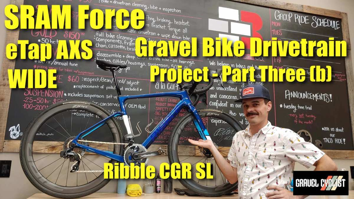 sram force etap wide build project