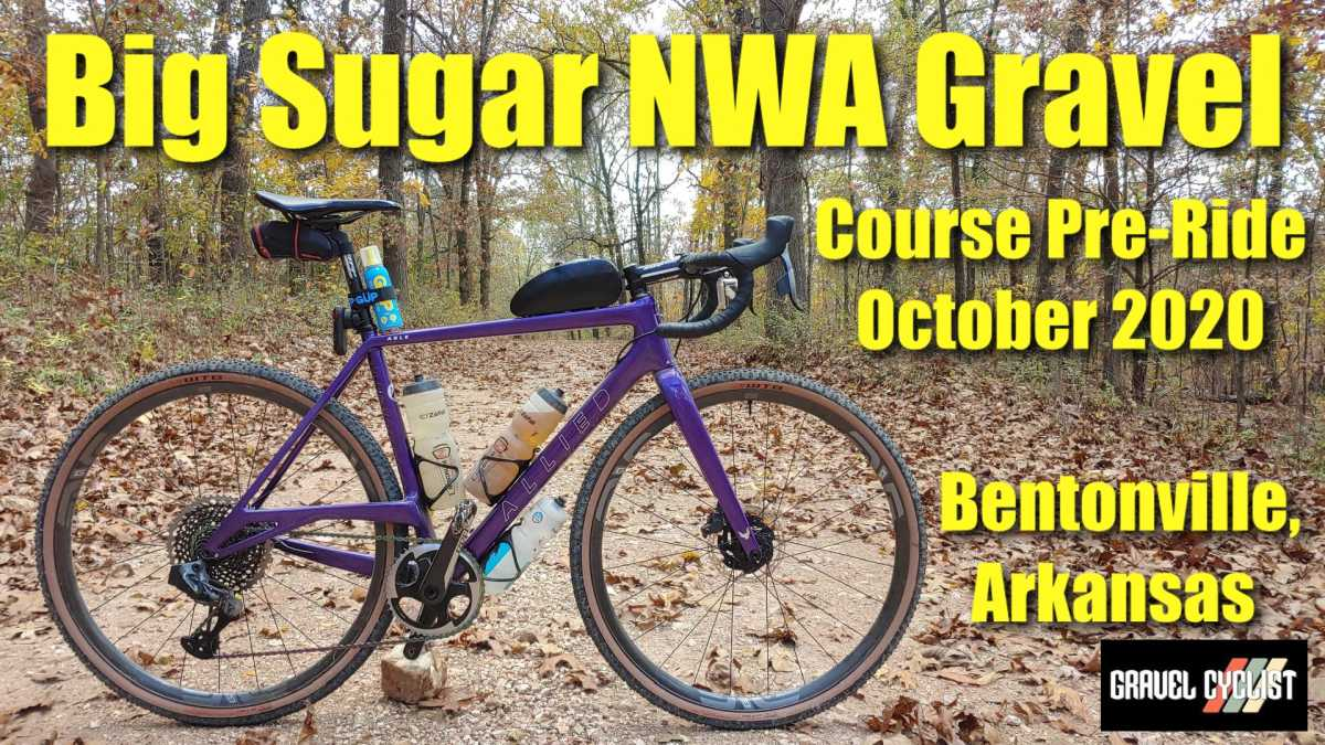 big sugar nwa gravel pre-ride